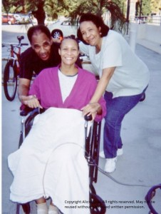 Alicia and Parents at hospital