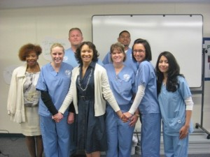 Simi Valley Adult School Nursing  Students